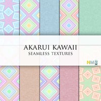Akarui Kawaii Seamless Textures