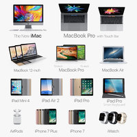Apple electronics collection 2016 2017 v2