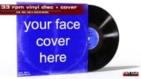 LP vinyl + cover