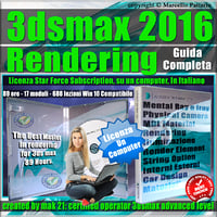 Corso 3ds max 2016 Rendering Guida Completa Locked Subscription, un Computer