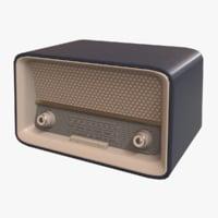 Vintage 50s Radio