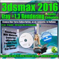 Iray + Upgrade 1.3 in 3ds max 2016 Guida Completa Locked Subscription, un Computer.