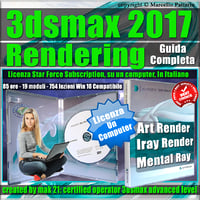 Corso 3ds max 2017 Rendering Guida Completa Locked Subscription, un Computer.