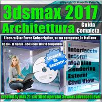 Corso 3ds max 2017 Architettura Guida Completa Locked Subscription, un Computer.