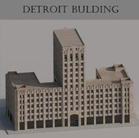 Detroit bulding