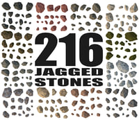 Rock Collection - Jagged Stone Mega Pack