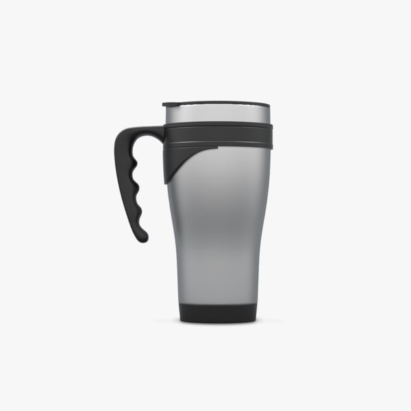 travel mug 3d model