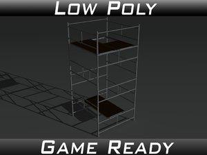 props scaffolds 3d model