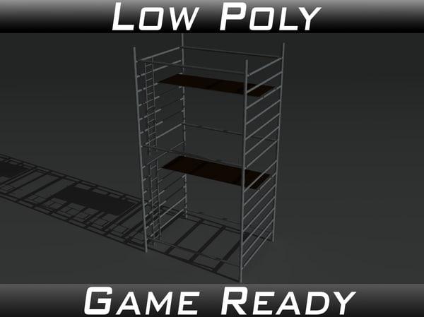 props scaffolds 2 3d model