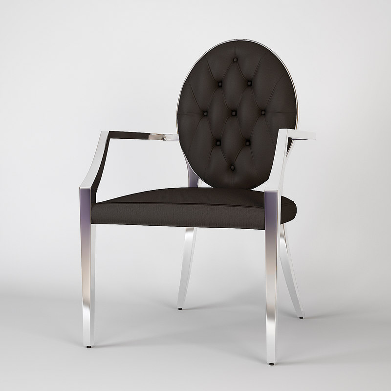 eichholtz chair tayler 3d obj