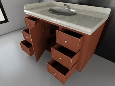 restroom sink counter 2010 3ds