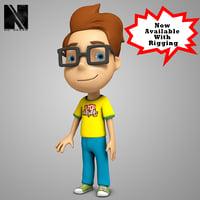 Stylized 3D Boy