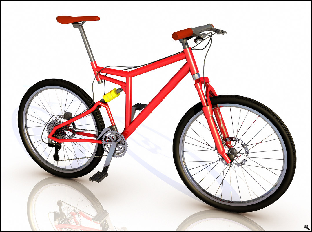 cartoon toon bike 3d max