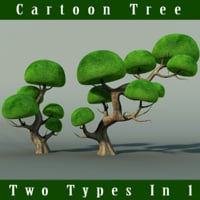 trunk leaf obj