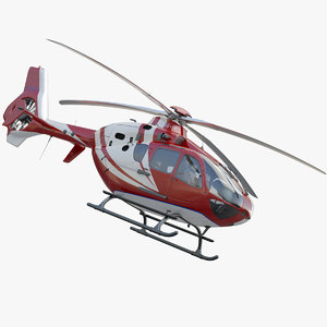 eurocopter ec 135 medical 3d max