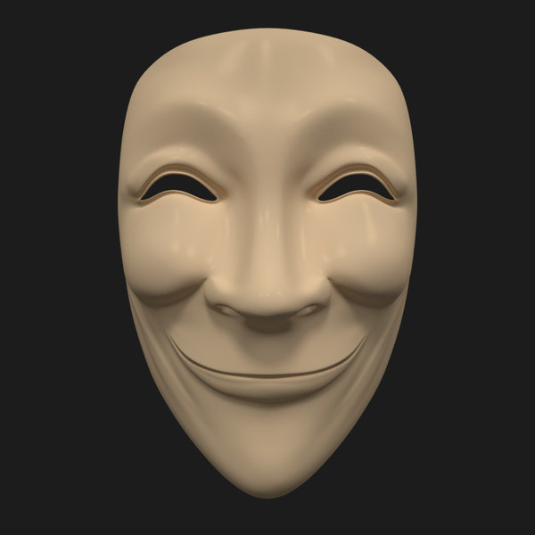 3ds anonymous mask