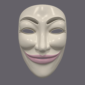 3d mask anonymous
