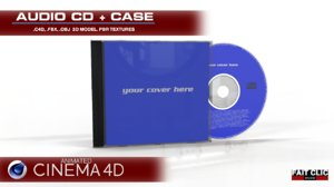 c4d cd case