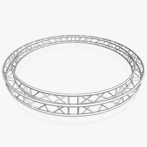 c4d circle square truss diameter