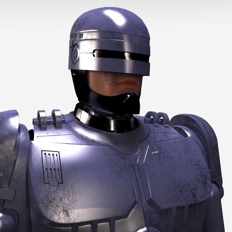 3d robocop classic - end