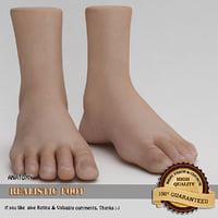 Realistic Foot
