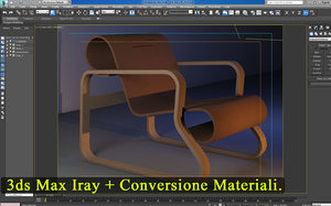 3ds max 2016 iray + Conversione Materiali