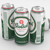 3d beer grolsch premium lager