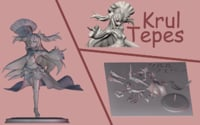 Krul Teppes. Assembly figurine from Owari no Seraph.