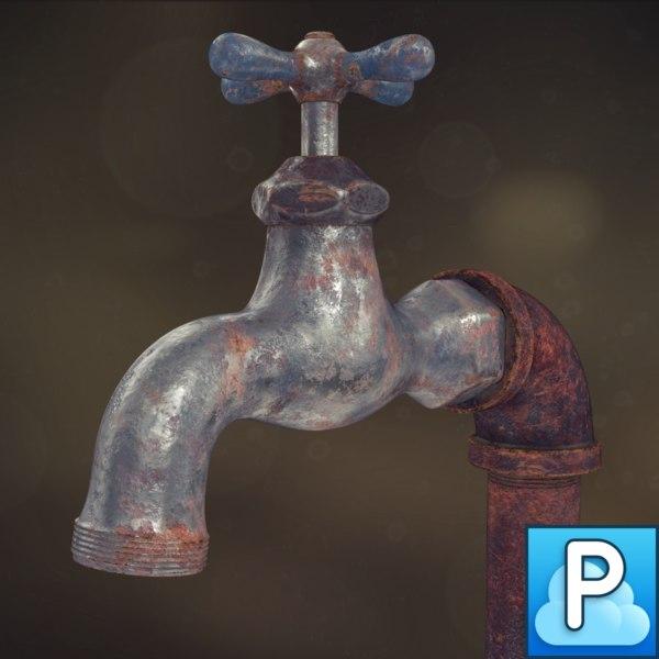maya old faucet