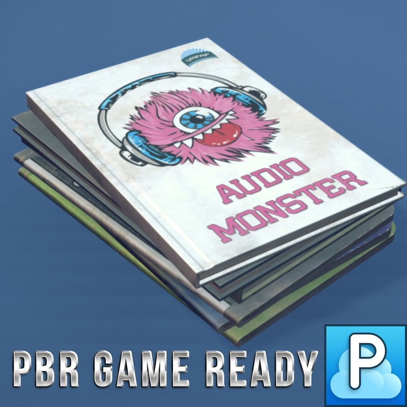 3d fbx school books