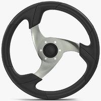 steering wheel 3d max