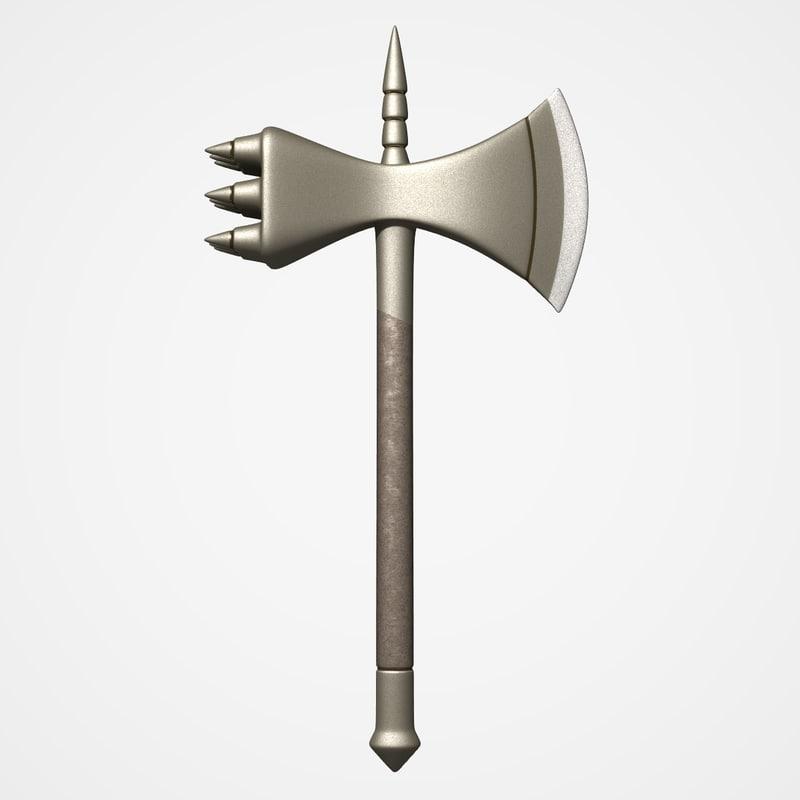 hand warhammer 3d model