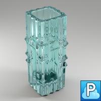 3dsmax 1960s vase