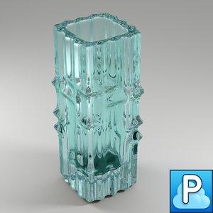 free obj mode vintage vase