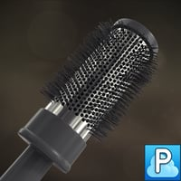 3d hair brush