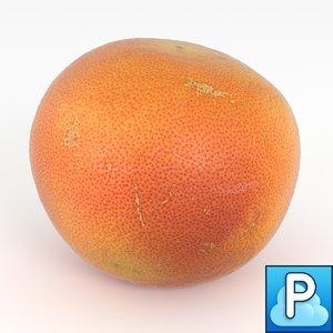 obj orange grapefruit fruit