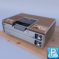 Sony SL-7200 VIDEOCASSETTE RECORDER