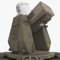 Rolling Airframe Missile Launcher