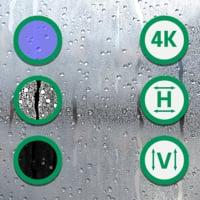 Raindrops Texture