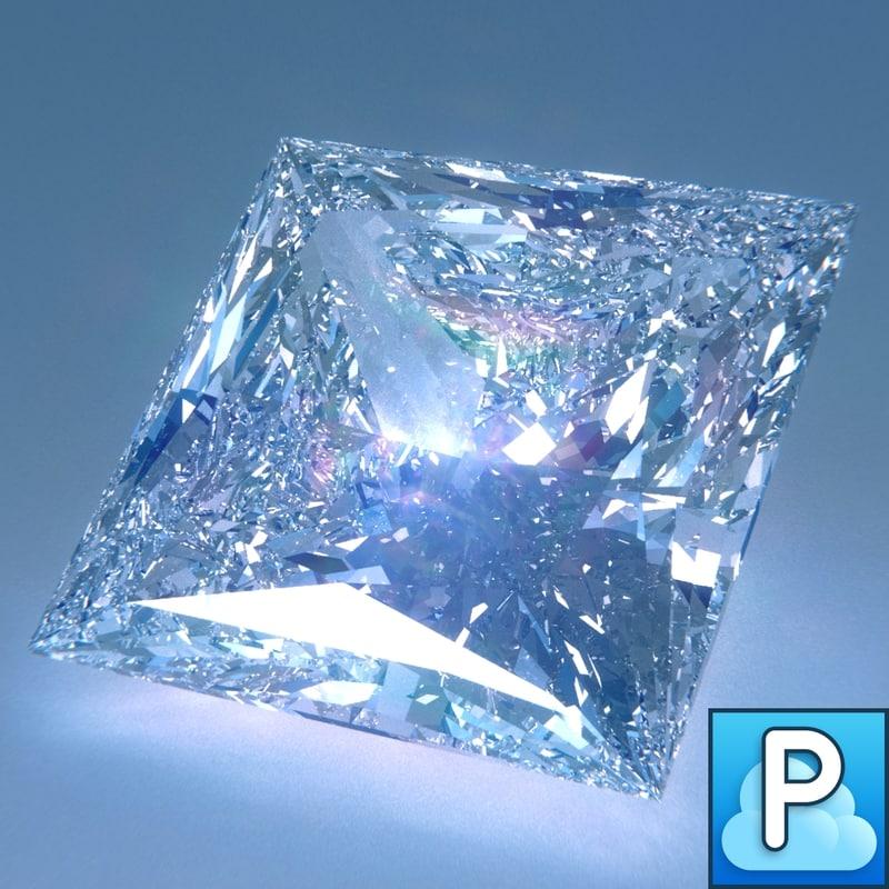 maya diamond princess cut