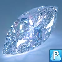 3ds max cut diamond