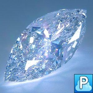 3ds max cut diamond