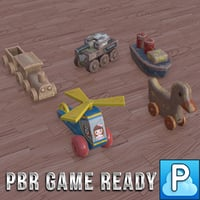 wooden toys game ready