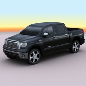 2010 toyota tundra 3d model