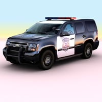 3ds max 2010 chevrolet tahoe police
