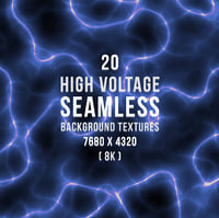 20 High Voltage Seamless Background Textures