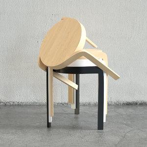 swedese spin stool staffan obj