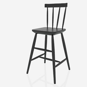 free 3ds model ikea agam chair