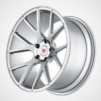 3d vossen vps 306 wheels model