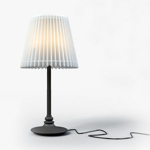 3d ikea angland - table lamp model